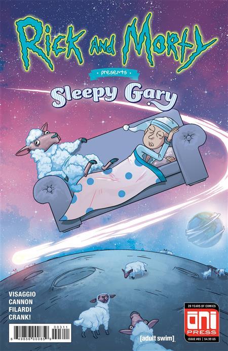 RICK & MORTY PRESENTS SLEEPY GARY #1 CVR A