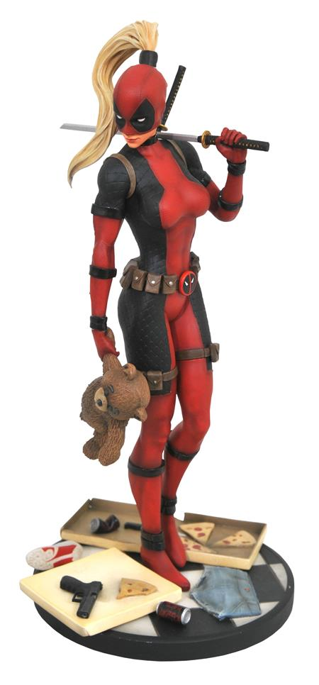 MARVEL PREMIER LADY DEADPOOL STATUE (C: 1-1-2)