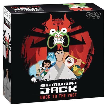 samurai jack gotta get back to the past board game c 0 1 2