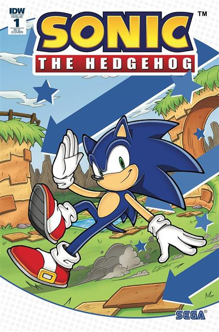 HCF 2019 SONIC THE HEDGEHOG #1 (Net)