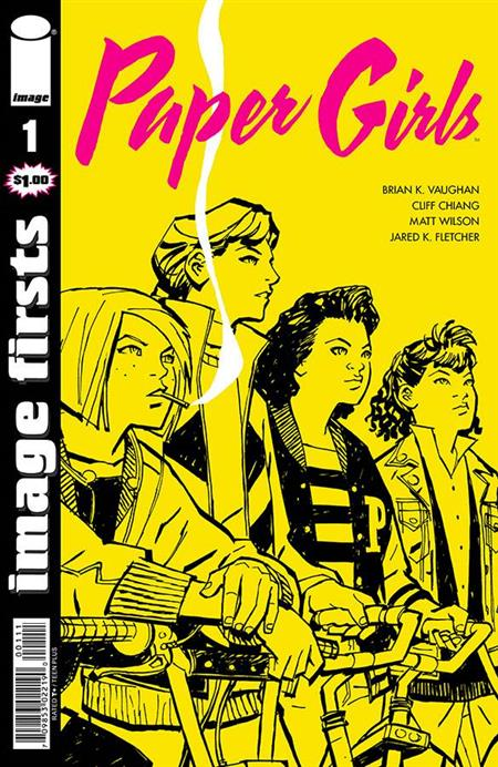 IMAGE FIRSTS PAPER GIRLS #1