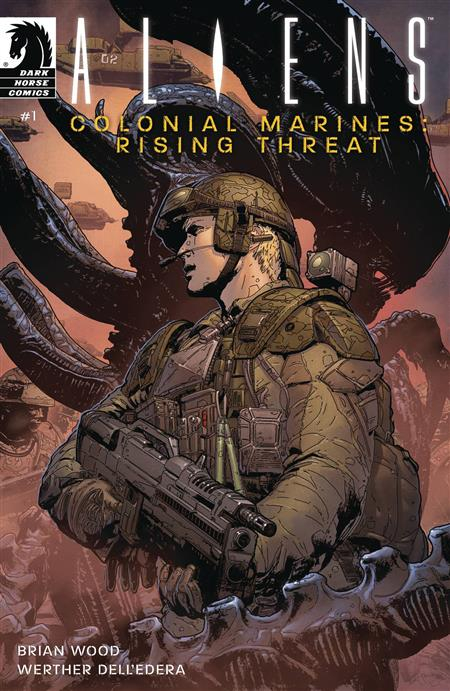 ALIENS COLONIAL MARINES RISING THREAT #1 CVR A JONES & GOUGH