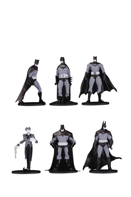BATMAN BLACK & WHITE BLIND BAG MINI FIGS W 3 (18 PCS CASE) (