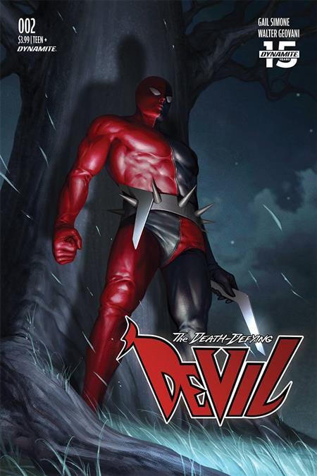 DEATH-DEFYING DEVIL #2 CVR A LEE