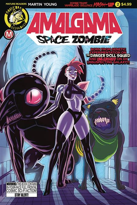 AMALGAMA SPACE ZOMBIE #2 CVR A YOUNG (MR)