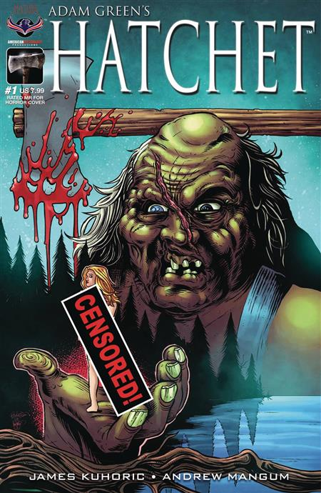 HATCHET #1 RATED MR FOR HORROR LTD ED CVR (MR)