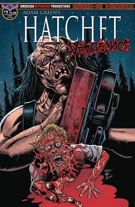 HATCHET VENGEANCE #1 HASSON BLOOD & GORE CVR (MR)