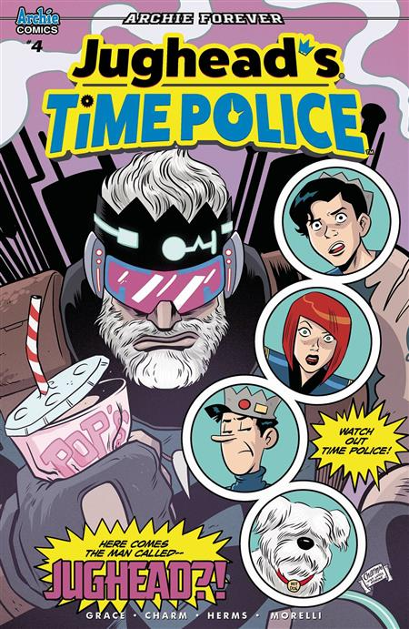 JUGHEAD TIME POLICE #4 (OF 5) CVR A CHARM