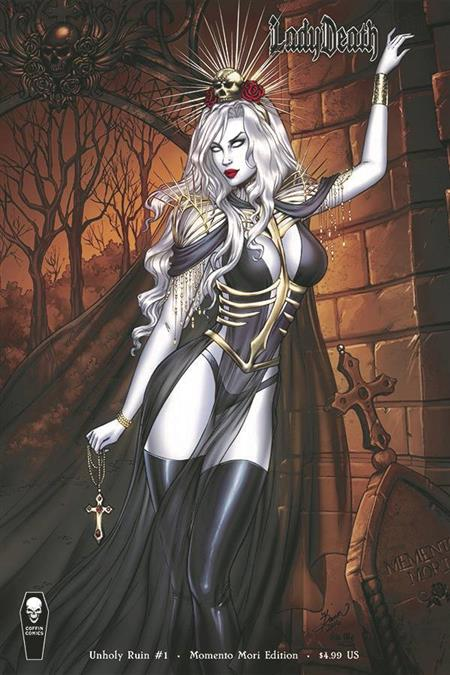 LADY DEATH UNHOLY RUIN #1 MOMENTO MORI VAR (MR)