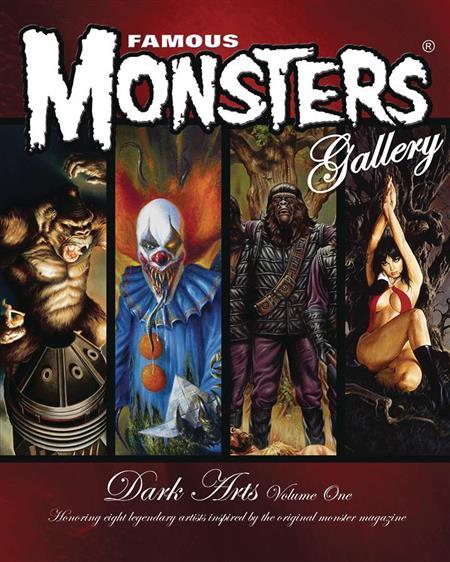 FAMOUS MONSTERS DARK ARTS #1
