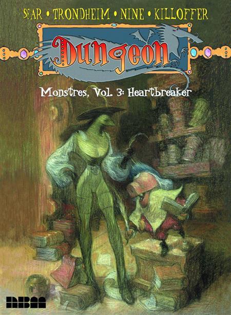DUNGEON MONSTRES GN VOL 03 HEARTBREAKER