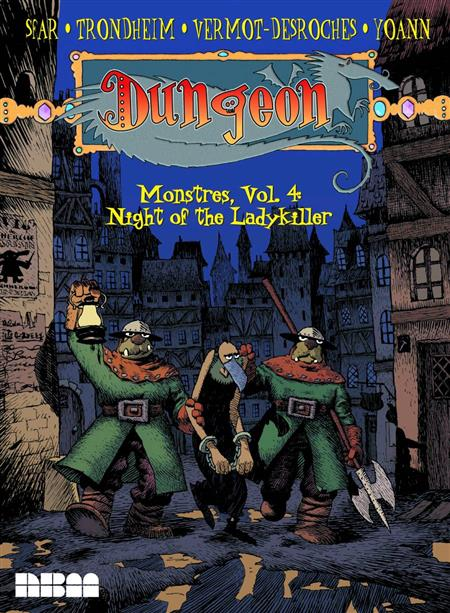 DUNGEON MONSTRES GN VOL 04 NIGHT O/T LADYKILLER