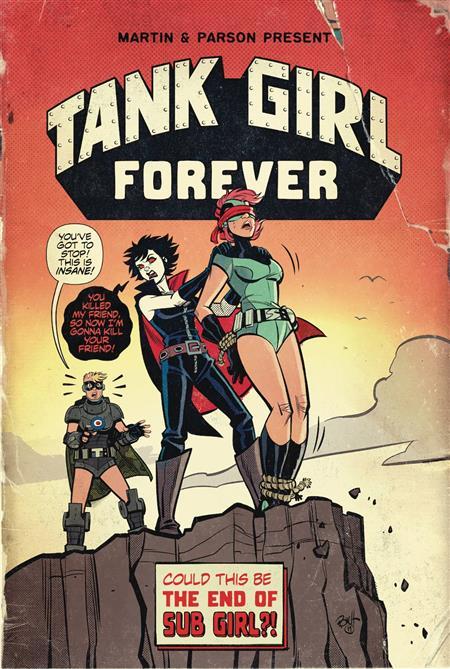 TANK GIRL #7 CVR A PARSON