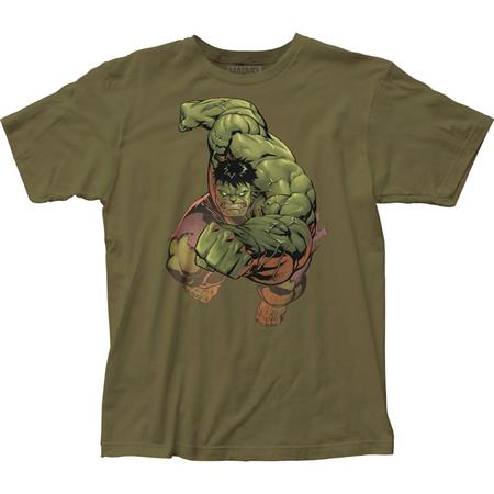 THE INCREDIBLE HULK PUNCH T/S LG (C: 1-1-2)