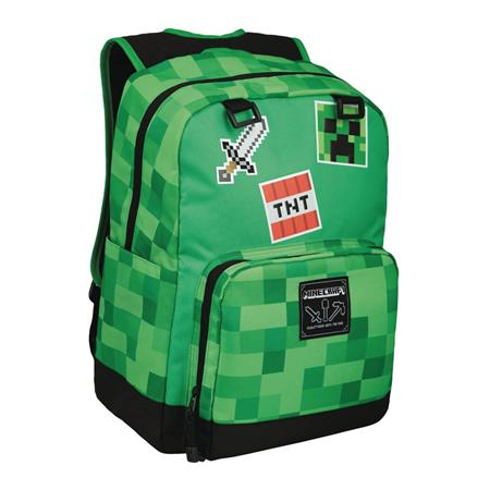 MINECRAFT SURVIVAL BADGES BACKPACK (C: 1-1-2)