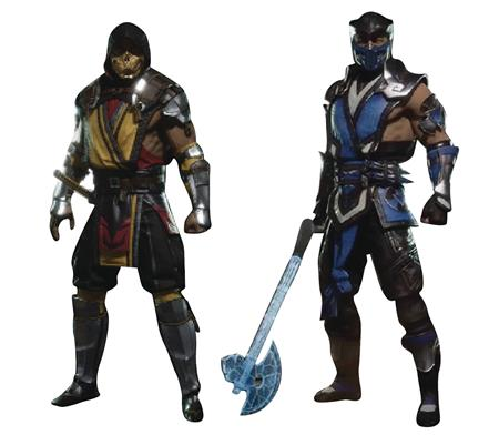 MORTAL KOMBAT SCORPION/SUB-ZERO 7IN AF ASST (Net) (C: 1-1-2)