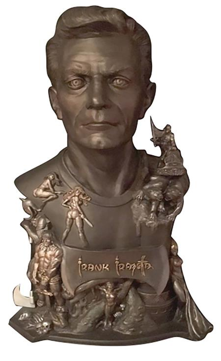 FRANK FRAZETTA LTD ED LIFESIZE PAINTED BUST (C: 0-1-2)