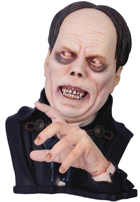 CLASSIC PHANTOM OF THE OPERA LTD ED LIFESIZE PAINTED BUST (C