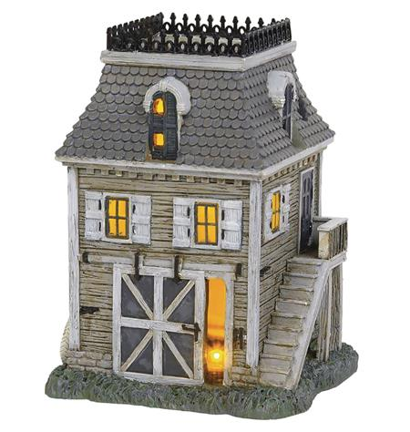 THE ADDAMS FAMILY VILLAGE CARRIAGE HOUSE FIGURE (C: 1-1-2)