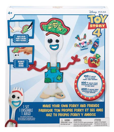 TOY STORY 4 MAKE YOUR OWN FORKY & FRIENDS CRAFT SET CS (Net)