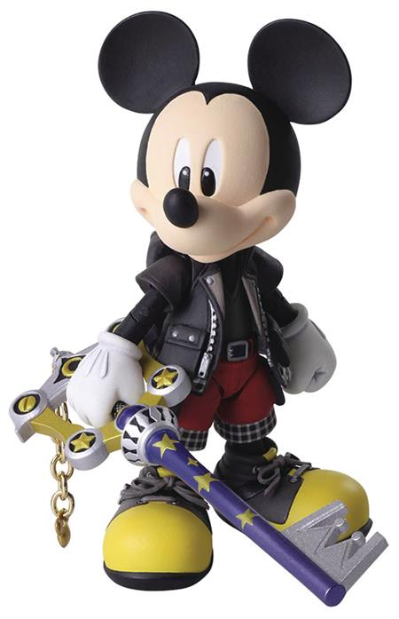 KINGDOM HEARTS III BRING ARTS KING MICKEY AF (C: 1-1-2)