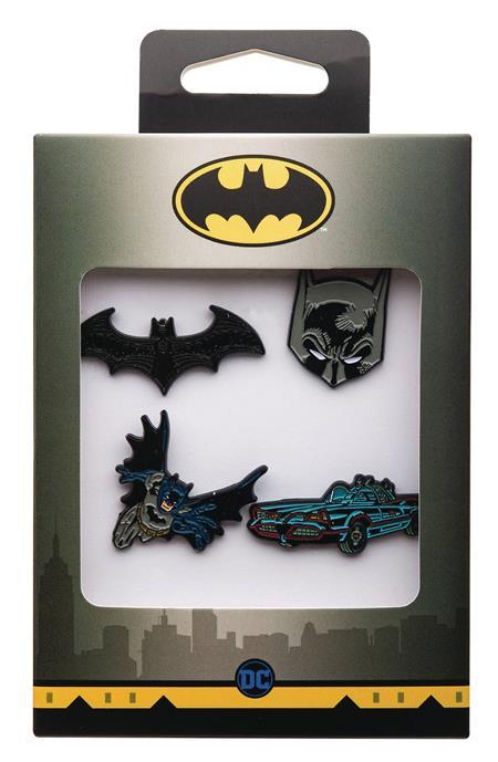 BATMAN 4PC BOXED PIN SET (C: 1-1-2)