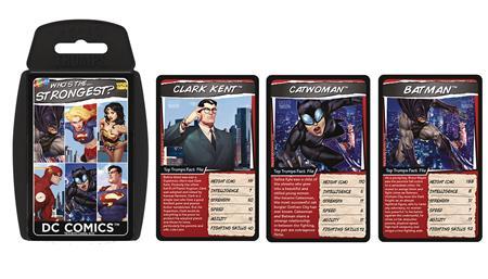 DC COMICS TOP TRUMPS (C: 1-1-2)