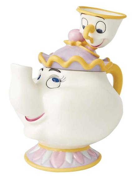 DISNEY MRS POTTS AND CHIP CERAMIC COOKIE JAR (C: 1-1-2)