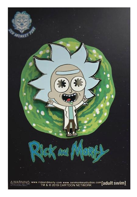 RICK AND MORTY LIL TINY RICK PIN (C: 1-1-2)