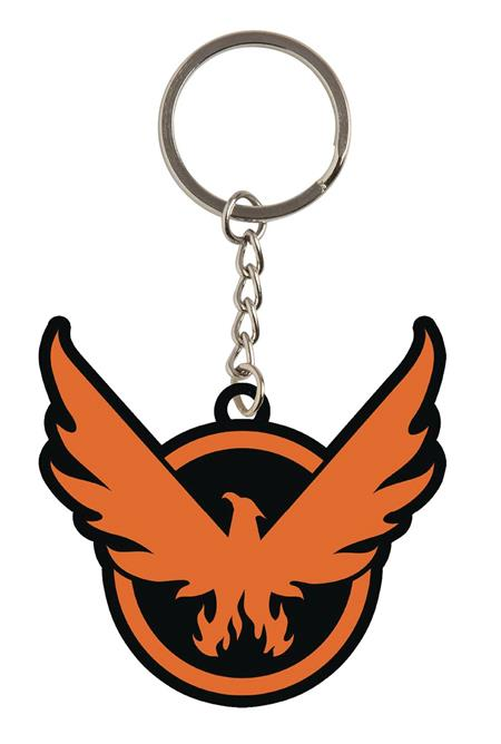 THE DIVISION 2 ON THE MOVE RUBBER KEYCHAIN (C: 1-1-2)