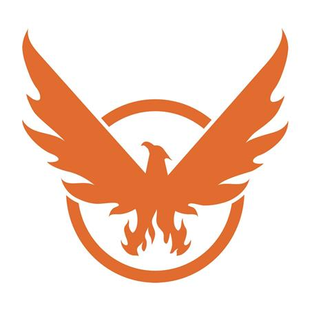 THE DIVISION 2 PHOENIX ON BOARD WINDOW DECAL (C: 1-1-2)