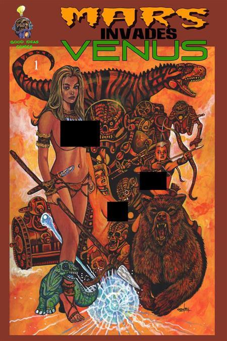 Mars Invades Venus (Nude Variant) (O/A)