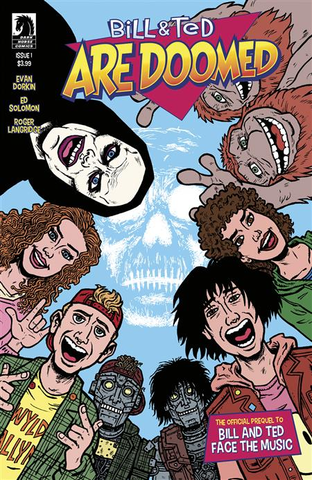 BILL & TED ARE DOOMED #1 (OF 4) CVR A DORKIN