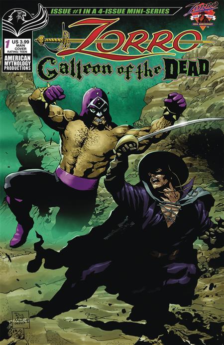 ZORRO GALLEON OF DEAD #1 CVR A MARTINEZ