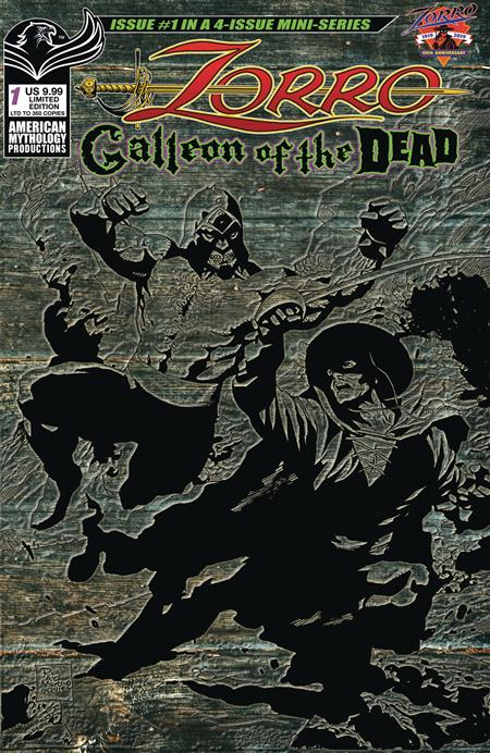 ZORRO GALLEON OF DEAD #1 CVR C PULP LTD ED