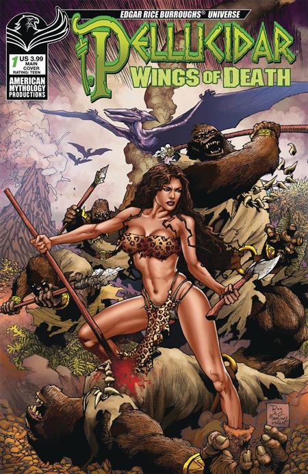 PELLUCIDAR WINGS OF DEATH #1 CVR A MARTINEZ