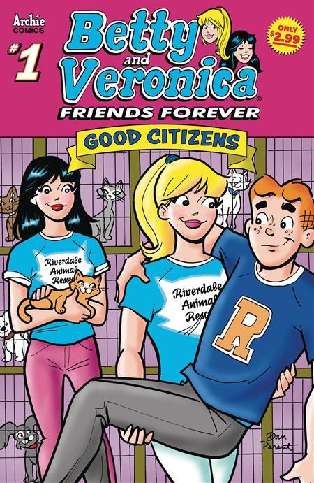 BETTY &VERONICA FRIENDS FOREVER GOOD CITIZEN #1