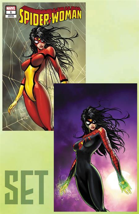 SPIDER-WOMAN #1 CVR A & B SET