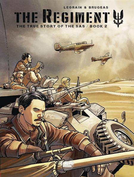 REGIMENT TRUE STORY OF SAS GN VOL 02 (C: 1-1-0)