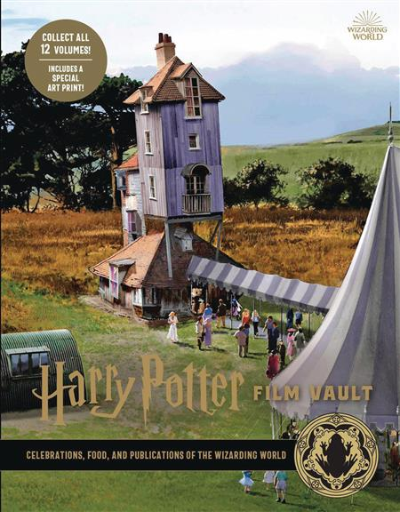 HARRY POTTER FILM VAULT HC VOL 12 CELEBRATIONS FOODS PUBLICA
