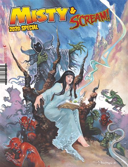 Halloween 2020 C Misty & Scream Halloween Special 2020 (C: 0 0 2)   Discount Comic