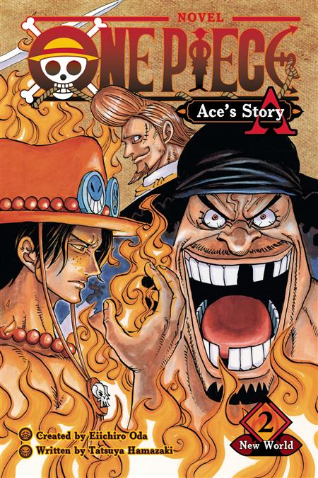 ONE PIECE ACES STORY NOVEL SC VOL 02 SPADE PIRATES (C: 1-1-2