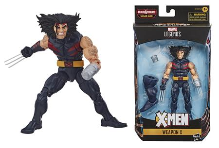 X-MEN LEGENDS 6IN WEAPON X AF CS (Net) (C: 1-1-2)