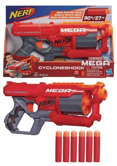 NERF N-STRIKE MEGA CYCLONESHOCK BLASTER CS (Net) (C: 1-1-2)
