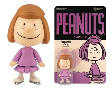 PEANUTS WV2 PEPPERMINT PATTY REACTION FIGURE (Net) (C: 0-1-2