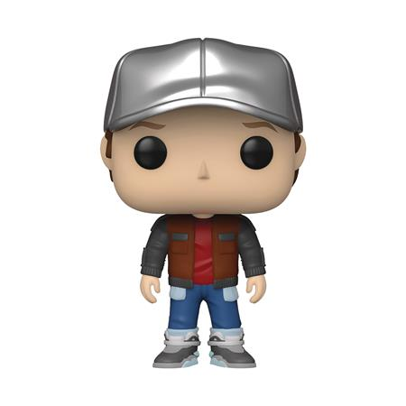 POP MOVIE BTTF MARTY IN FUTURE OUTFIT VINYL FIGURE (C: 1-1-2