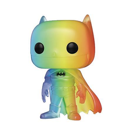 POP ANIMATION PRIDE 2020 DC HEROES BATMAN RAINBOW VIN FIG (C