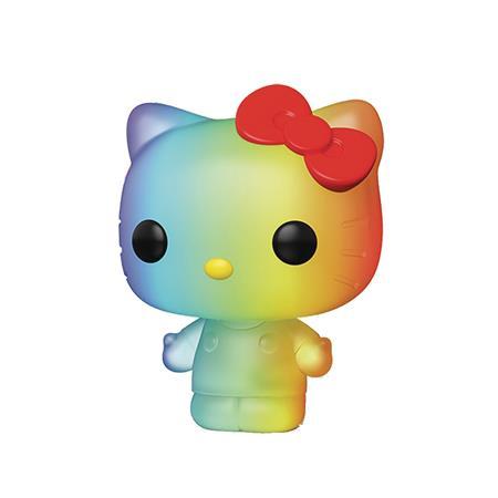 POP ANIMATION PRIDE 2020 SANRIO HELLO KITTY RAINBOW VIN FIG
