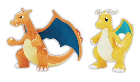 POKEMON CHARIZARD & DRAGONITE BANDAI MODEL KIT (Net) (C: 1-1