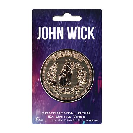 JOHN WICK CONTINENTAL COIN ENAMEL PIN (C: 0-1-2)